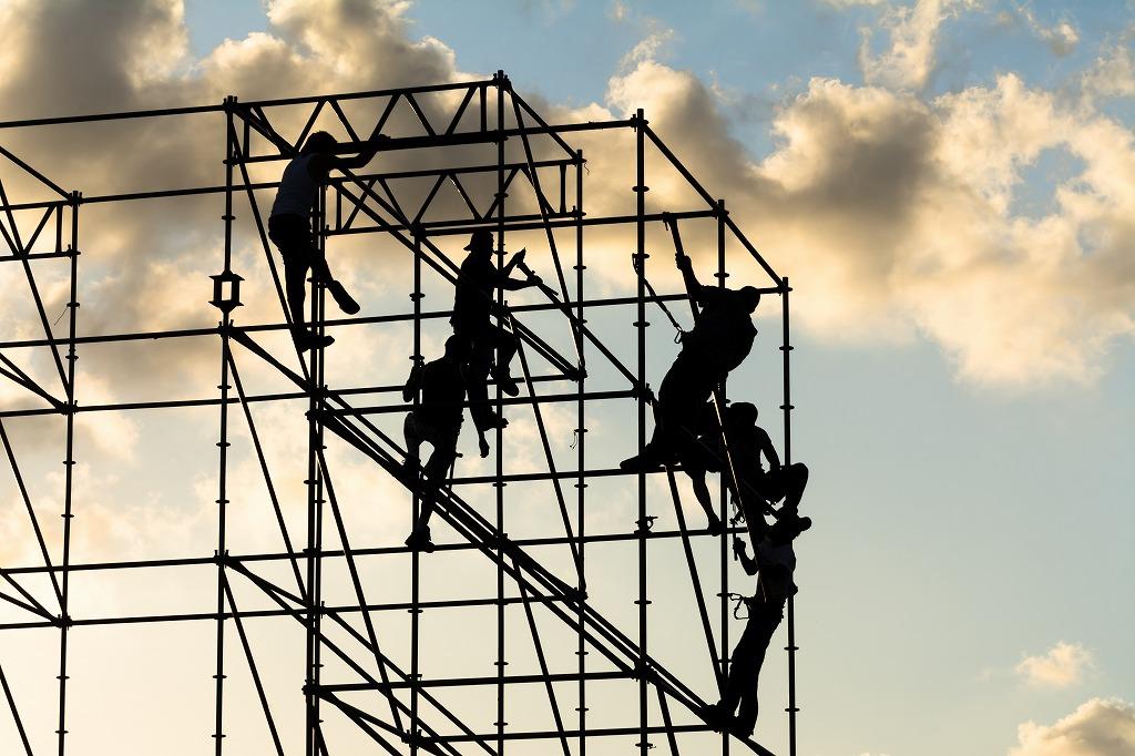 求職者必見!仮設工事とほかの工事の深い関係